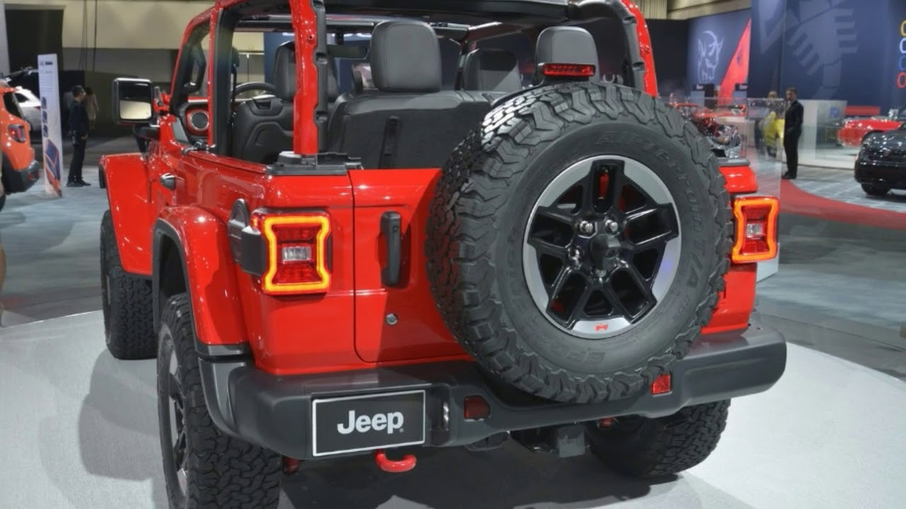 2018 Jeep Wrangler Promises Improved On Off Road Performance And Fuel  Economy |2017 L. A Auto Show
