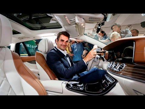 Roger Federer & The New Mercedes-Benz E-Class Estate