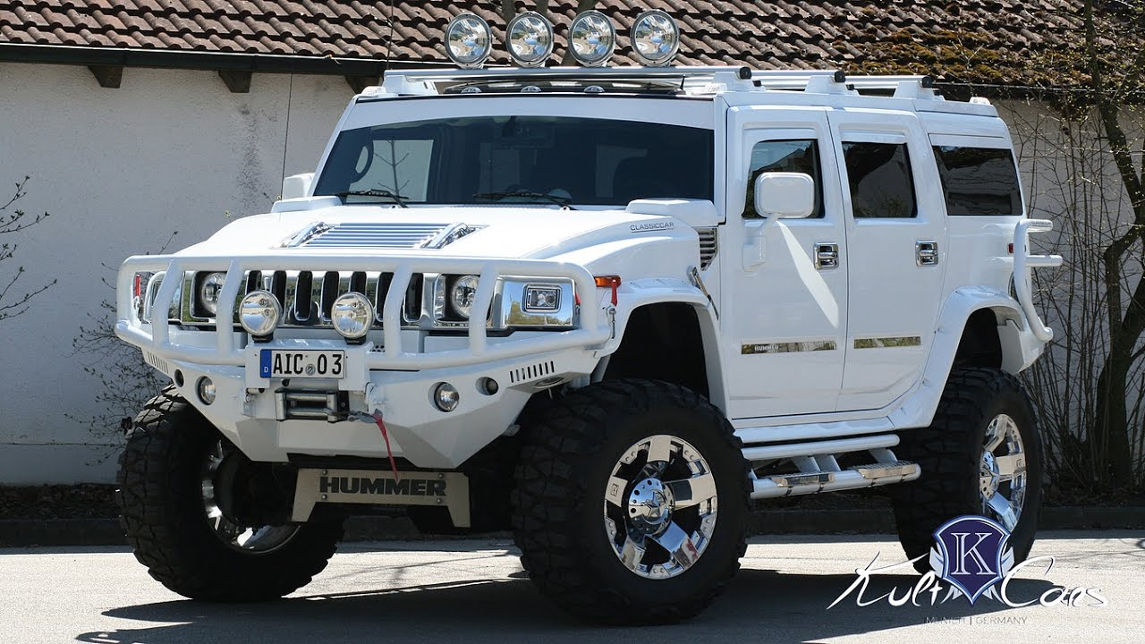 "Hummers For Sale >> Hummer H2 Minotaurus Supercharger ""MONSTER TRUCK"" - 1.Ausfahrt - YouTube"
