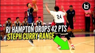 RJ Hampton Did His Best Steph Curry Impersonation! Full Highlights vs Denton Guyer!