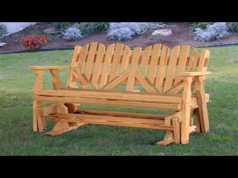 Wooden Porch Glider Plans