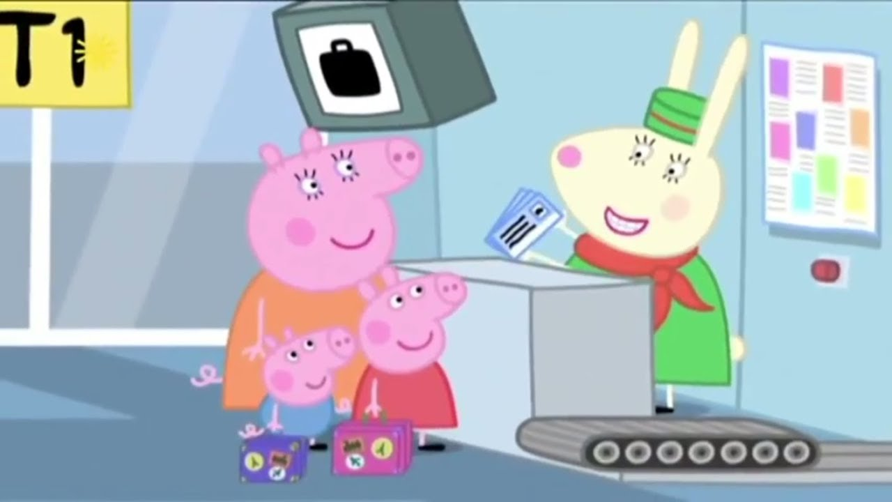 Download Peppa Pig - Flying on Holiday | English Full Episodes Compilation #30