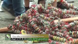 Con rifas y concursos Granada Stereo alegró el 24 de diciembre de los granadinos