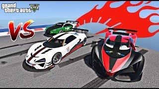 PROGEN ITALI GTB VS NERO E X80 QUEM VENCE no GTA 5?