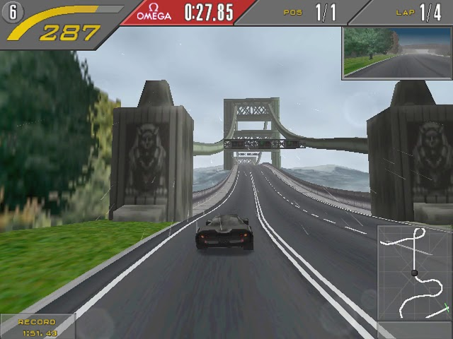 One lap on every track in Need for Speed 2 (with different cars) - NFS 2 SE (1997)