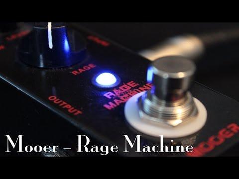 Mooer Rage Machine Distortion Pedal - Metal Demo