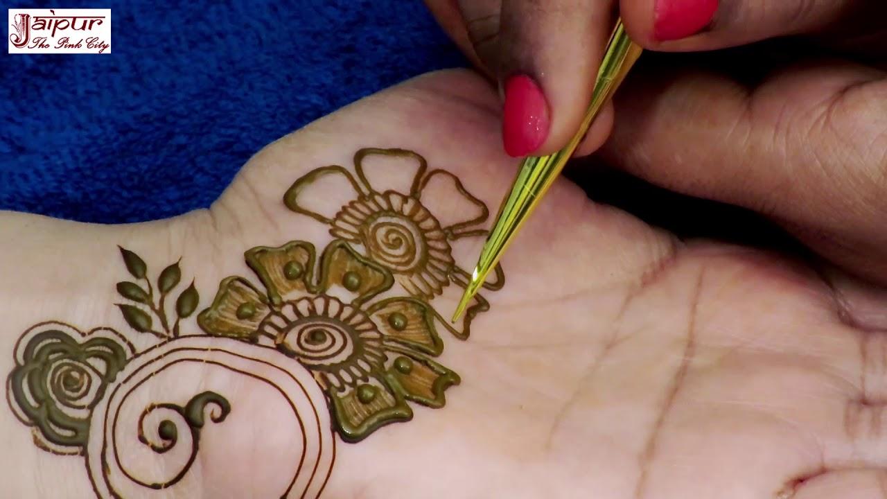 Latest Mehndi Design For Hands Easy Mehndi Design For Hands By