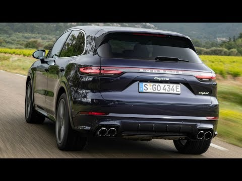 2019 Porsche Cayenne E-Hybrid Purpurit Metallic - Plugs in and Boosts Performance