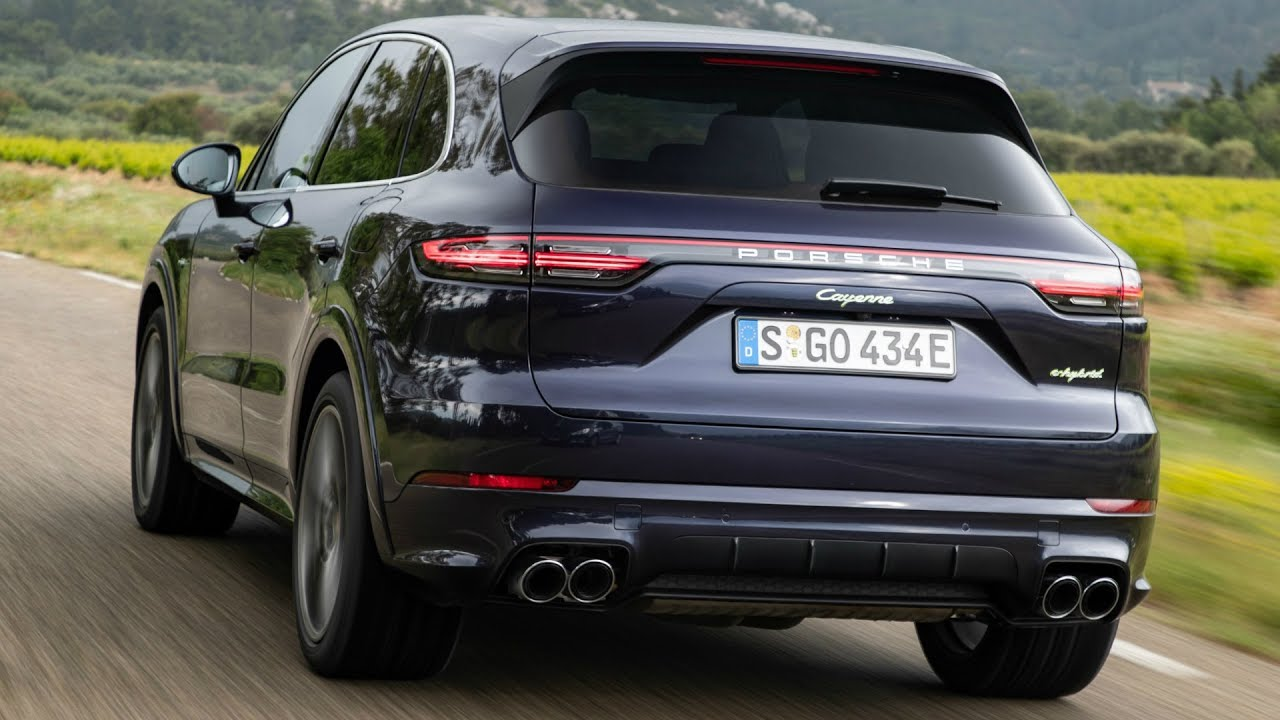 2019 Porsche Cayenne E Hybrid Purpurit Metallic Plugs In And Boosts Performance