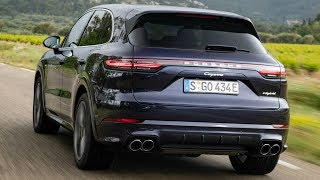 2019 Porsche Cayenne E-Hybrid Purpurit Metallic - Plugs in and Boosts Performance