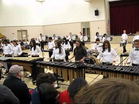 Daniel J. Savage Middle School Marching Band