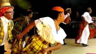 Colibri des Iles danses traditionnelles antillaises sur TV28 (extrait).
