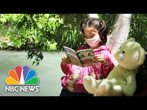 Librarian Uses Creative Method Of Getting Books To Kids In Quarantine | Nightly News: Kids Edition