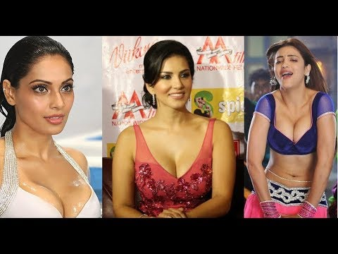 14 Bollywood Actresses Hot Cleavage