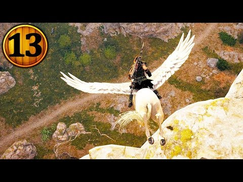 LEGENDARY PEGASUS HORSE! (No Fall Damage) - Assassins Creed Odyssey - Part 13 thumbnail