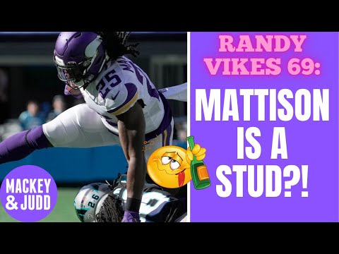 Minnesota Vikings stud stable after a win over the Carolina Panthers!