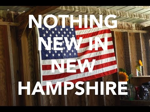 NOTHING NEW IN NEW HAMPSHIRE