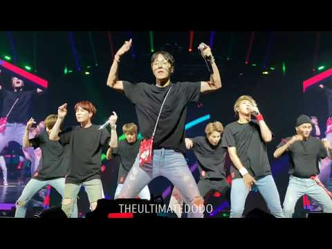 180929 Anpanman @ BTS 방탄소년단 Love Yourself Tour in Newark Fancam 직캠