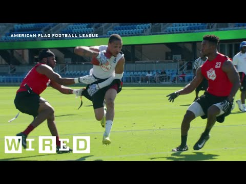 Inside the High-Tech Flag Football League That