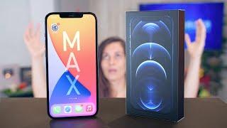 iPHONE 12 PRO MAX SE NOS QUEDA CORTO!!!!!!!