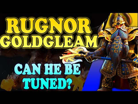 Rugnor Goldgleam - Can He Be Tuned for Clan Boss? | Raid Shadow Legends