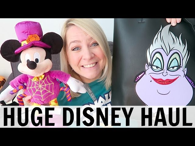 HUGE DISNEY HAUL: Crap I've Bought For Disneyland Paris!