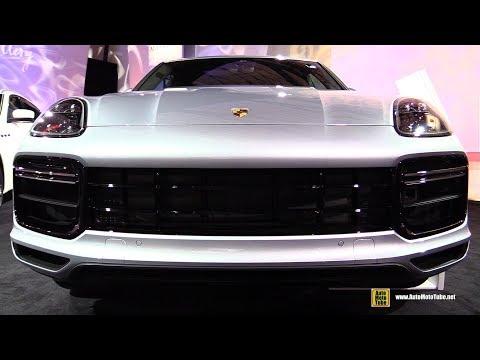 2019 Porsche Cayenne Turbo - Exterior and Interior Walkaround - 2018 Detroit Auto Show