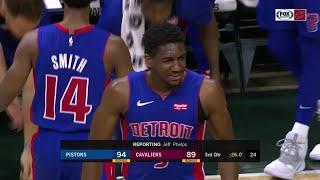 3rd Quarter, One Box Video: Cleveland Cavaliers vs. Detroit Pistons
