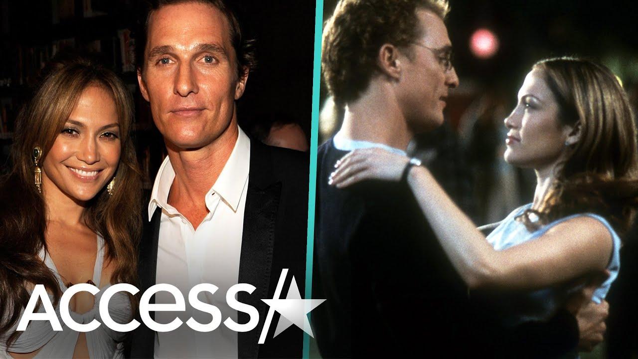 JLo & Matthew McConaughey Celebrate 20 Years Of 'The Wedding Planner'