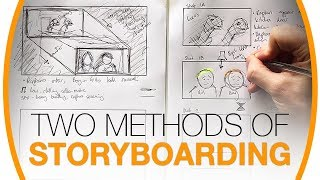 How to draw A-grade storyboards (even if you can't draw!)   Media studies tutorial