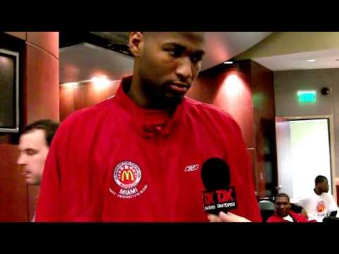 DeMarcus Cousins 2009 McDonald\'s All-American Interview