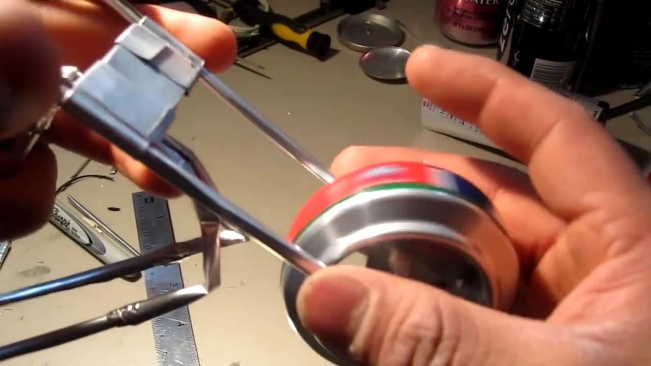 7 o tutorial como hacer una moto de lata paso a paso parte - Como hacer un estor enrollable paso a paso ...
