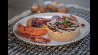 Roasted Pumpkin with Cashew Bean Paste | Vegan High-Protein Recipe