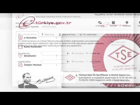 e-devlet kapısı - www.turkiye.gov.tr I \