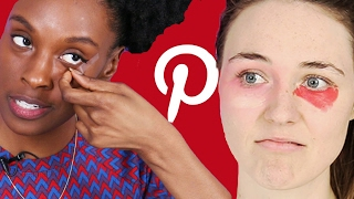 We Tried Pinterest Makeup Hacks To See If They Work