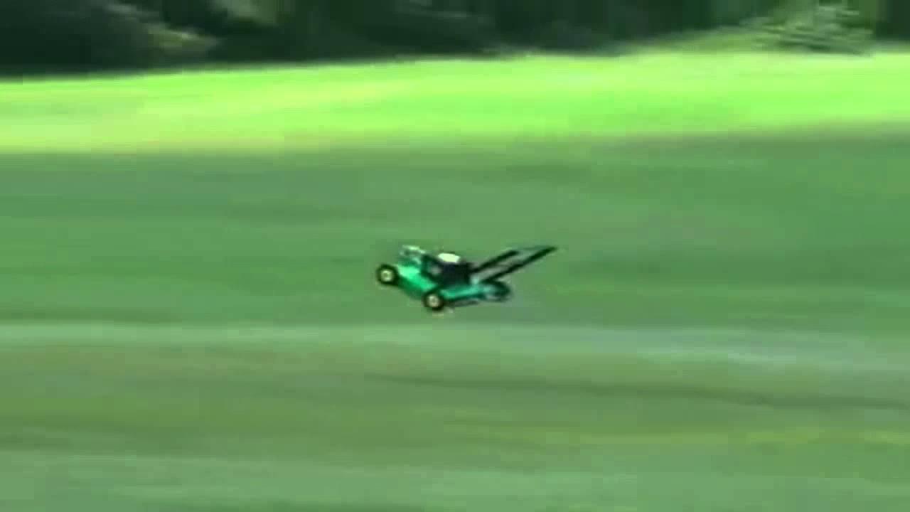 Flying Lawnmower Youtube