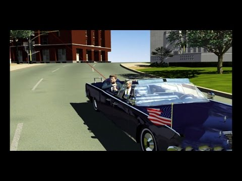JFK Assassination Computer Animation