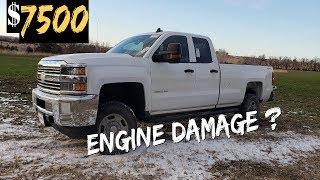 $7500 2015 Chevy Silverado 2500 4X4 - - ENGINE DAMAGE? Part 4
