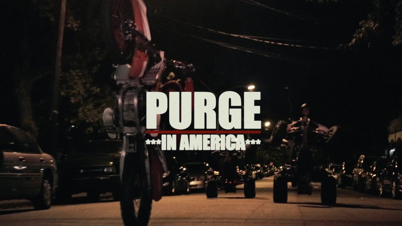 The Forever Purge Finally Gives Up on America