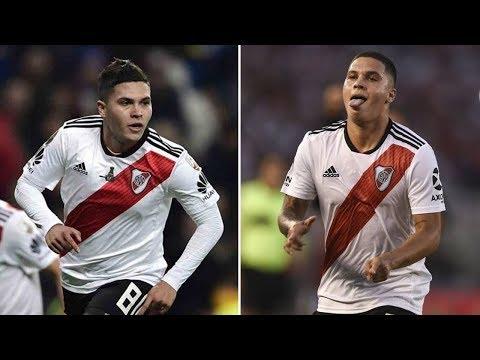 JUAN FERNANDO QUINTERO: Gol a Boca Juniors vs Gol a Racing Club