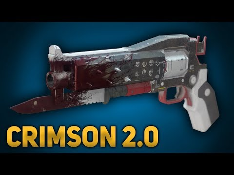 Crimson Exotic Hand Cannon In-Depth Review, Breakdown & Comparison (Warmind - Season 3)