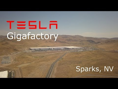 Tesla Gigafactory Construction Update - August 17, 2017