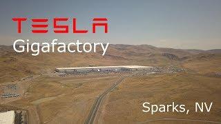 Tesla Gigafactory Construction Update - August 17, 2017