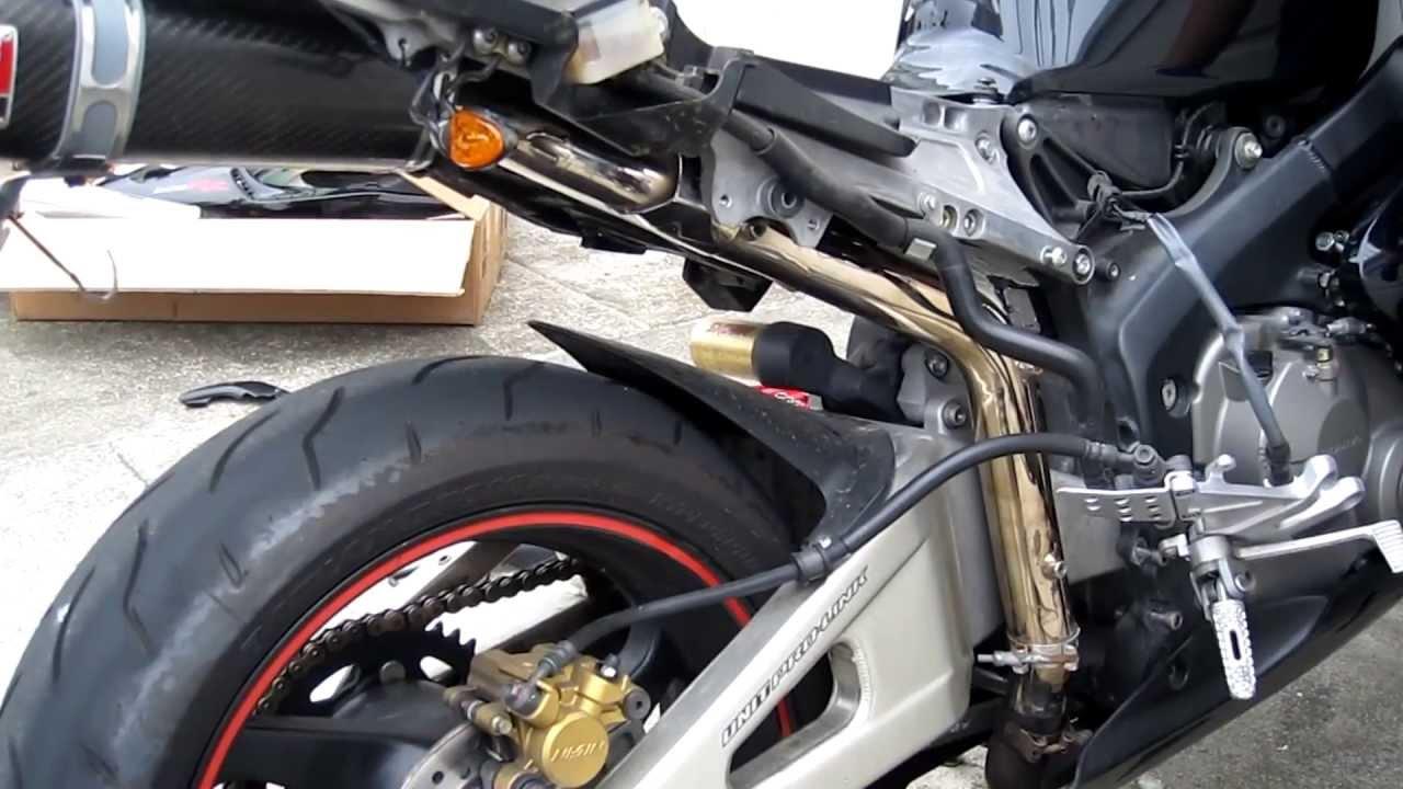 Diy How To Install An Exhaust On A Honda Cbr 600rr