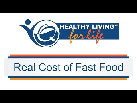 Healthy Living for Life - Real Cost of Fast Food (Full Version)