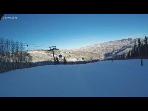 Checking On The Ski Conditions At Beaver Creek