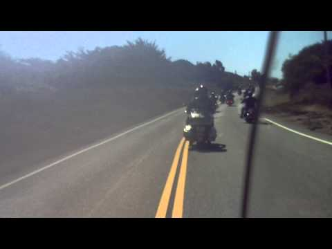 Coastside Armada Harley Club cruise to Big Sur