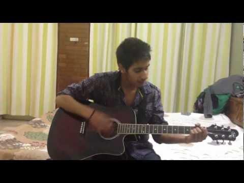 jee chahe panchi hojavan on guitar by Nikhil,Fazilka