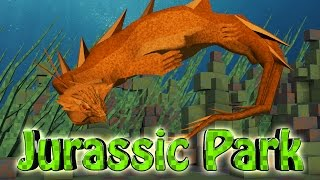 "Minecraft Dinosaurs   Jurassic Craft Modded Survival Ep 43! ""NEW SEA MONSTER"""