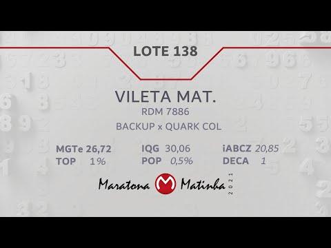 LOTE 138 Maratona Matinha